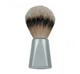 dovo_mattechromebrush_1(Silvertip-Badger-Brush-Aluminium)