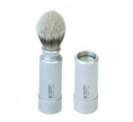 travelbrush(Silvertip-Badger-Travel-Brush-Stainless)